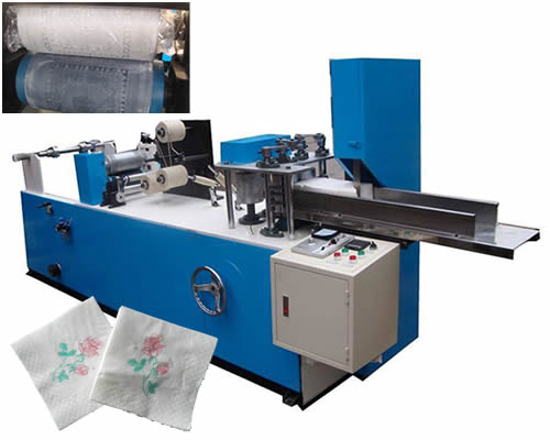 Automatic Toilet Paper Colors Printing Machinery