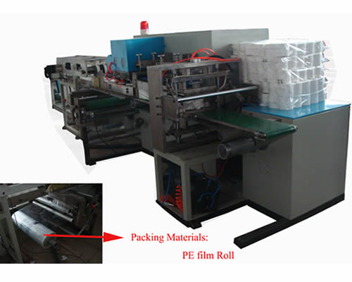 Full Automatic Multi-rolls Paper Packing Mahcine For Sale