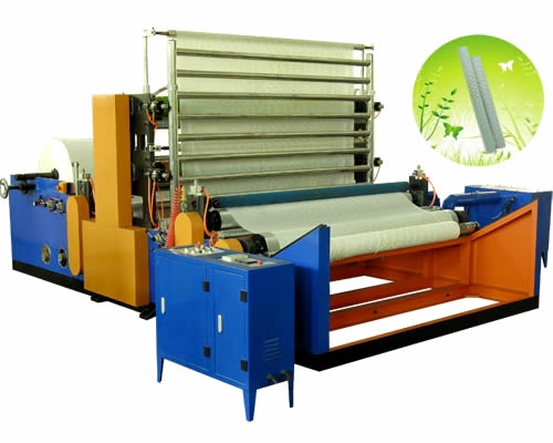 Jumbo Roll Toilet Paper Printing Machine