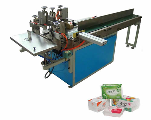 Semi Automatic Soft Tissue Paper Packaging Machine