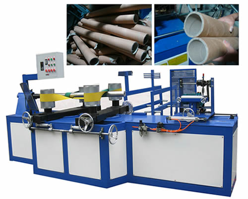 spiral tube making machine for paper core