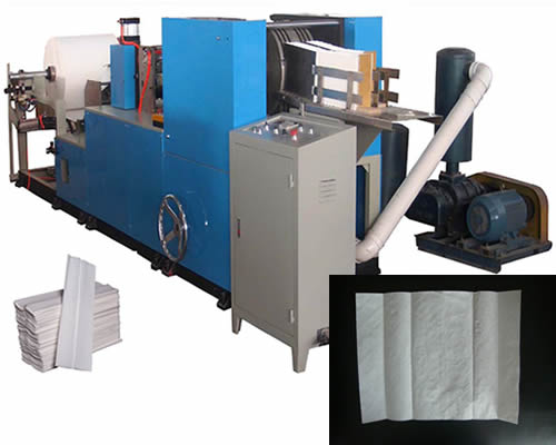 Automatic C-folding Hand Towel Manufacturing Machine For Sale