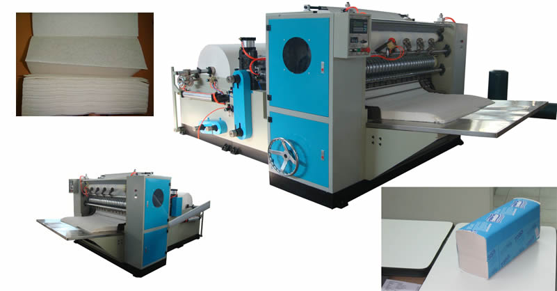 Automatic Z-fold Hand Towel Paper Machine For Sale
