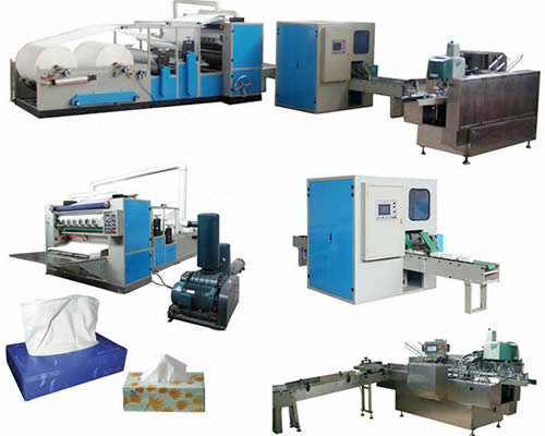 EAN-FT-03 Automatic Facial Tissue Paper Production Line