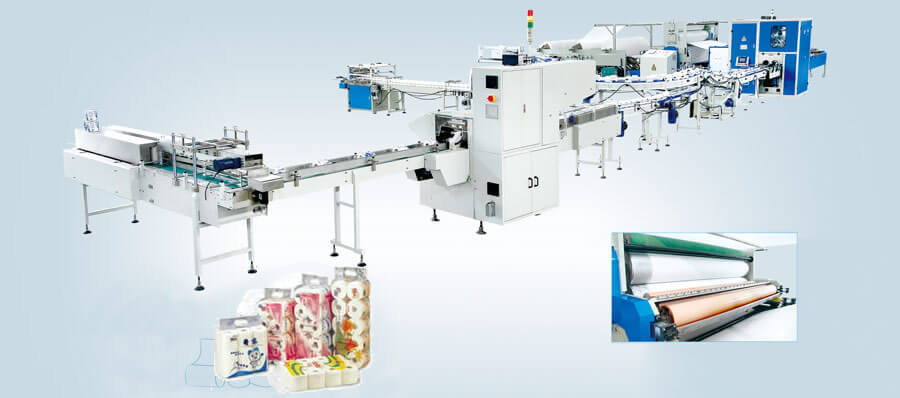 Full Automatic toilet paper manufacturing machine for sale