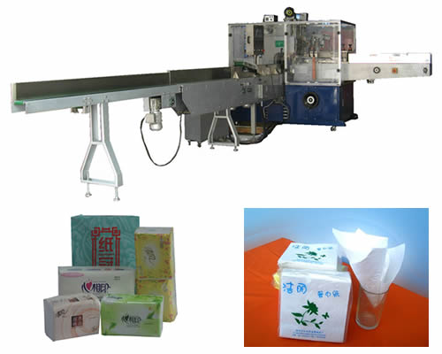 Full Automatic Soft Tissue Paper Packing Machine