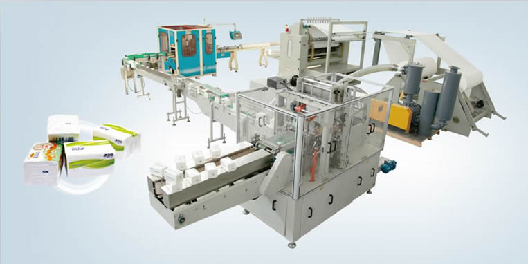 Automatic EAN-FT01 facial tissue making machine for sale