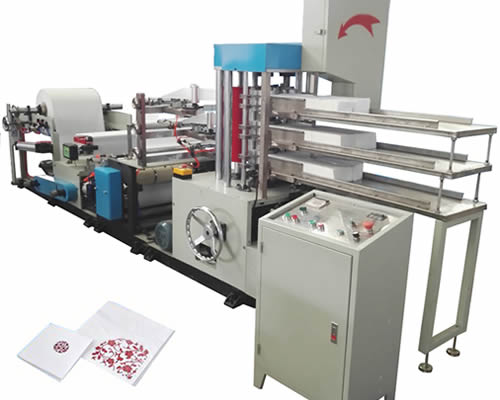 High Production Napkin Making Machine At Competitive Price 6 lines
